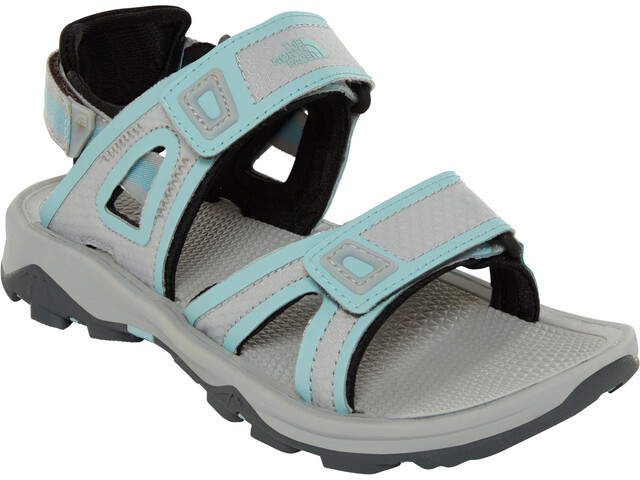 The North Face Hedgehog II Chaussures Femme, high rise grey/canal blue